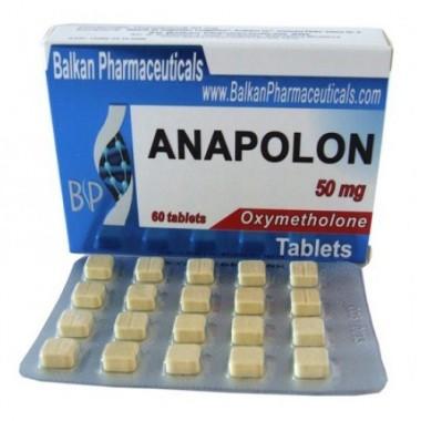 Anapolon Анаполон 50 мг, 100 таблеток, Balkan Pharmaceuticals в Караганде
