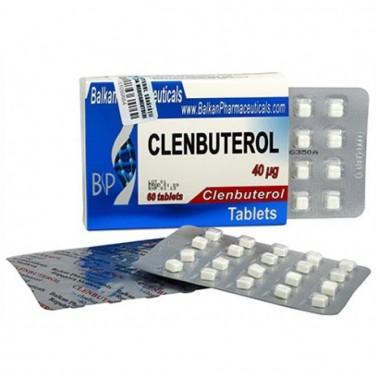 Clenbuterol Кленбутерол 40 мкг, 100 таблеток, Balkan Pharmaceuticals в Караганде