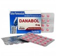 Danabol Данабол Метандиенон Метан 10 мг, 100 таблеток, Balkan Pharmaceuticals