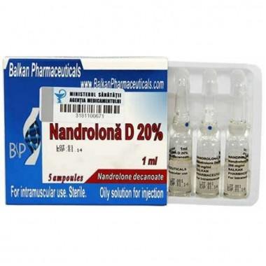 Nandrolona D 20% Нандролон Деканоат 200 мг/мл, 10 ампул, Balkan Pharmaceuticals в Караганде