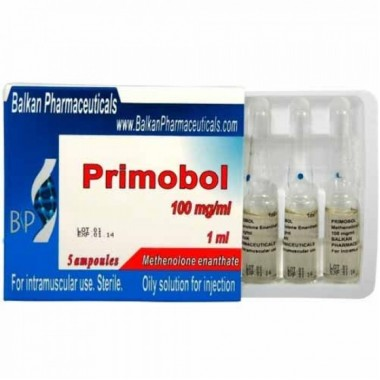 Primobol Примоболан 100 мг/мл, 10 ампул, Balkan Pharmaceuticals в Караганде