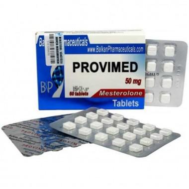 Provimed Провимед Провирон 50 мг, 20 таблеток, Balkan Pharmaceuticals в Караганде
