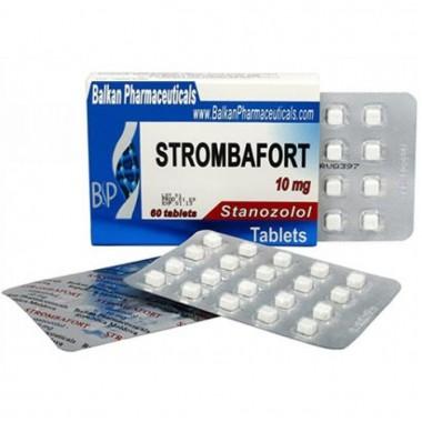 Strombafort Стромбафорт 10 мг, 100 таблеток, Balkan Pharmaceuticals в Караганде