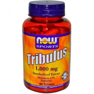 Tribulus Трибулус 1000 мг, 90 таблеток, Now Sports в Караганде