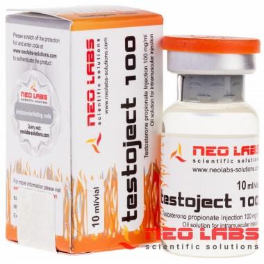 Testoject 100 Testosterone Propionate 100 мг/мл, 10 мл, Neo Labs в Караганде