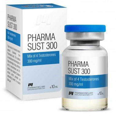 PHARMASUST 300 Тестостерон Микс 300 мг/мл, 10 мл, Pharmacom LABS в Караганде