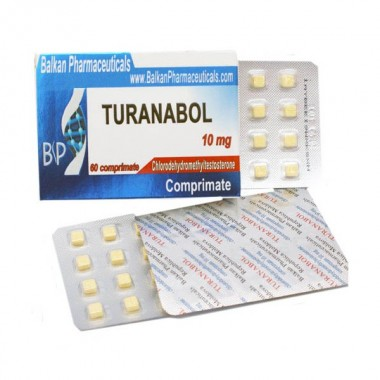 Turanabol Туринабол 10 мг, 100 таблеток, Balkan Pharmaceuticals в Караганде