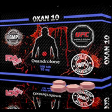 OXAN 10 Оксандролон 10 мг, 100 таблеток, UFC PHARM в Караганде