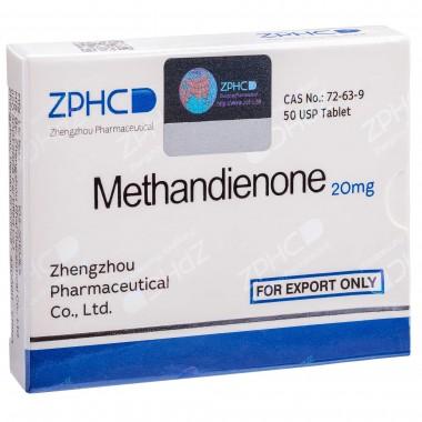 Methandienone Метандиенон 20 мг, 50 таблеток, ZPHC в Караганде