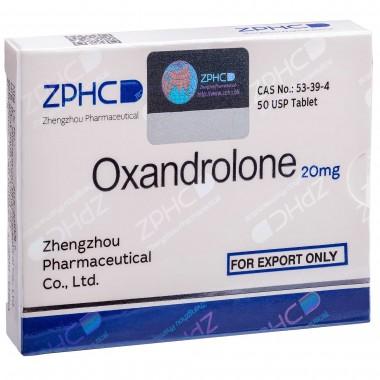 Oxandrolone Оксандролон 20 мг, 50 таблеток, ZPHC в Караганде