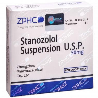 Stanozolol Suspension Станозолол суспензия 50 мг, 10 ампул, ZPHC в Караганде