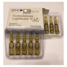 Testosterone Cypionate Тестостерон Ципионат 250 мг/мл, 10 ампул, ZPHC