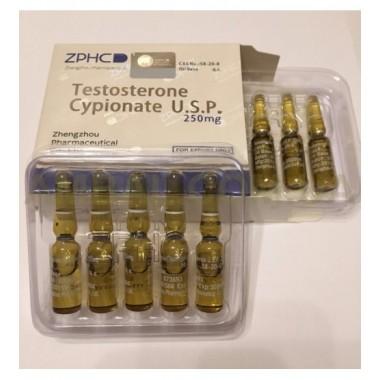 Testosterone Cypionate Тестостерон Ципионат 250 мг/мл, 10 ампул, ZPHC в Караганде