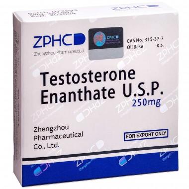 Testosterone Enathate Тестостерон Энантат 250 мг, 10 ампул, ZPHC в Караганде