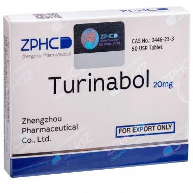 Turinabol Туринабол 20 мг, 50 таблеток, ZPHC в Караганде