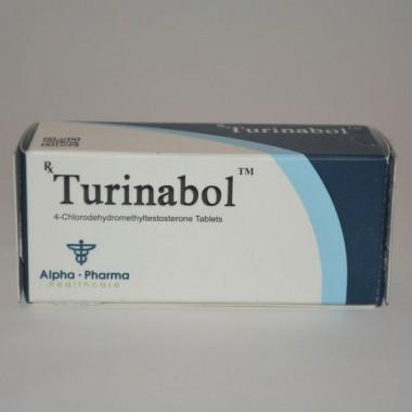 Turinabol (Туринабол) Alpha Pharma 50 таблеток (1таб 10 мг) в Караганде